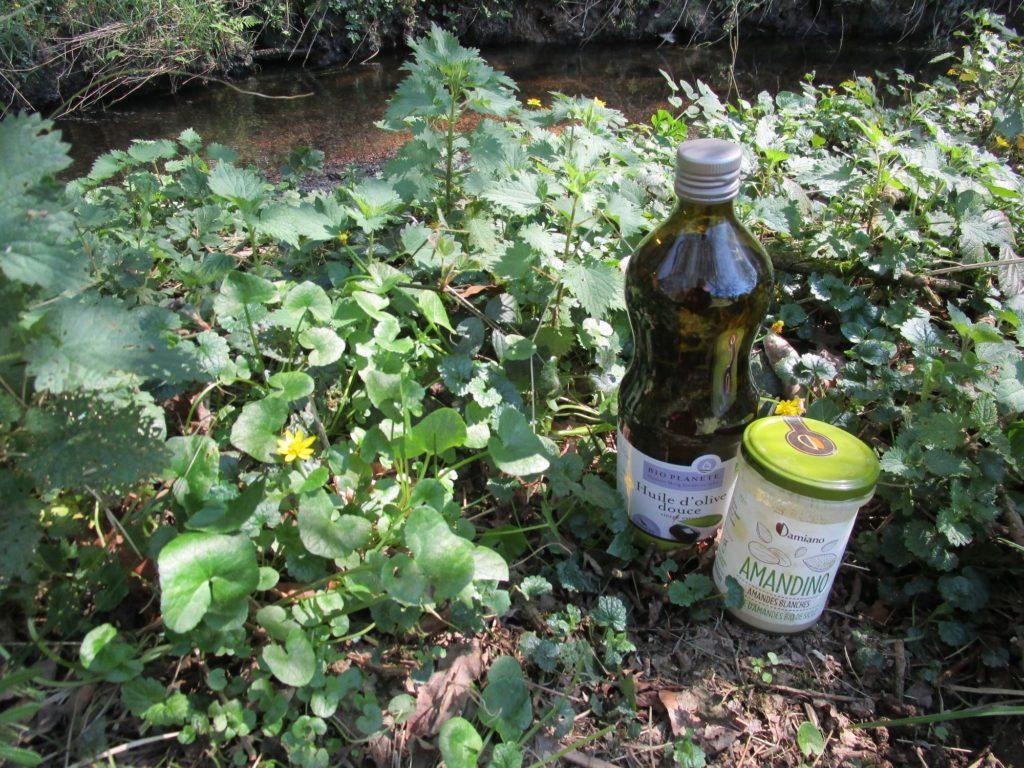 huile d'olive et purée d'amande